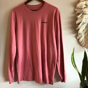 Pink long sleeve Patagonia shirt